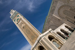 Casablanca. Hassan II Mosque - Casablanca - Best of Morocco Stock Photo
