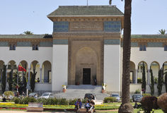 Casablanca, 20 avril 2013 photo stock