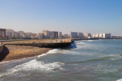 Casablanca. Panorama of Casablanca on a sunny day, Morocco Royalty Free Stock Images
