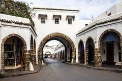 Casablanca city, Morocco. Old market Royalty Free Stock Photo