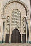 casablanca detaljhassan ii moské Arkivfoton