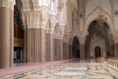 casablanca detaljhassan ii moské Royaltyfri Bild
