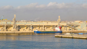 Casablanca harbour Royalty Free Stock Image