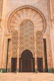 casablanca hassan ii morocco moské Royaltyfria Foton