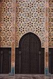 casablanca hassan ii morocco moské Arkivfoton