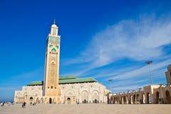 casablanca hassan ii moské Royaltyfri Fotografi