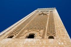 casablanca hassan ii moské Arkivfoton
