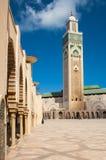 casablanca hassan ii moské Fotografering för Bildbyråer