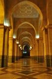 casablanca hassan ii moské Royaltyfri Bild
