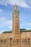 casablanca hassan ii moské Arkivbild