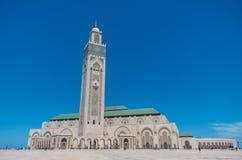 casablanca hassan ii moské Arkivbilder