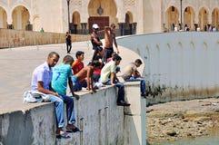 Casablanca Hassan II Mosque stock photos
