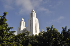 Casablanca-Kathedrale Lizenzfreies Stockfoto
