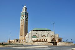 Casablanca King Hassan II Mosque Royalty Free Stock Images
