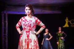 Casablanca, Maroc - 26 septembre 2017 : modèles marchant sur Image libre de droits