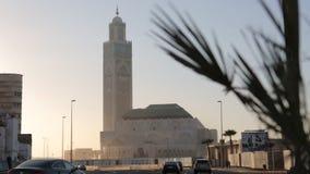 Casablanca, Marokko Hassan Mosque stock video