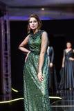 Casablanca Maroko, Wrzesień, - 26, 2017: modele chodzi na Obraz Stock