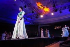 Casablanca Maroko, Wrzesień, - 26, 2017: modele chodzi na Fotografia Royalty Free