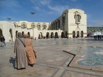 casablanca Morocco Meczetowy Hassan II buduje Obrazy Stock