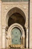 Casablanca, Morocco. Washstand in Mosque Hassan II Stock Photo