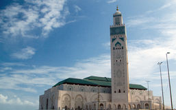 Casablanca mosque Royalty Free Stock Photos