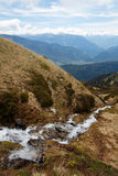 Casacade nelle alpi francesi Fotografia Stock Libera da Diritti