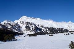 2013_Casaccia, Alpe加娜, Pian记号, Casaccia 免版税库存照片