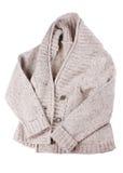 Casaco de lã de Woollens Foto de Stock Royalty Free