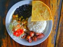 Casado Еда Коста-Рика tipycal Стоковое Изображение