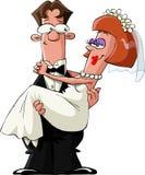 Casado ilustração stock