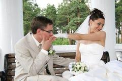 Casado. Fotografia de Stock
