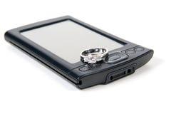 Casado con la tecnología imágenes de archivo libres de regalías