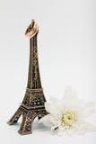Casado na torre Eiffel Fotos de Stock Royalty Free