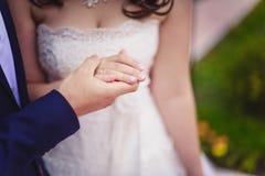 Casado recentemente Imagens de Stock Royalty Free