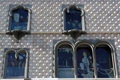 CasaDOS Bicos, Lissabon, Portugal Royaltyfri Fotografi