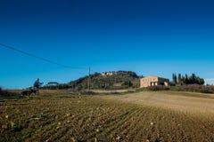 Casaglia, Πίζα, Ιταλία - 16 Νοεμβρίου 2017: Διαδρομή οδοιπορίας στο CAS Στοκ Εικόνα