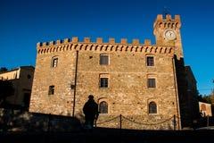 Casaglia, Πίζα, Ιταλία - 16 Νοεμβρίου 2017: Διαδρομή οδοιπορίας στο CAS Στοκ Φωτογραφίες