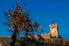 Casaglia, Πίζα, Ιταλία - 16 Νοεμβρίου 2017: Διαδρομή οδοιπορίας στο CAS Στοκ φωτογραφία με δικαίωμα ελεύθερης χρήσης
