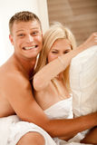 Casal feliz Fotografia de Stock Royalty Free
