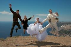 Casal feliz. Imagem de Stock