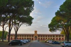 Casale la Sterpaia hotel facade Stock Images