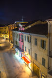 Casale Monferrato by night Stock Photography
