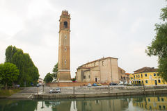 Casale sul sile city, Italy Stock Photos