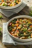 10 casalinghi organici caldi Bean Soup Fotografia Stock