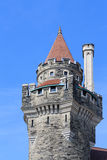 Casaloma torens op blauwe hemel Stock Afbeeldingen