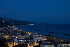 Free Casalvelino By Night Stock Images - 89503334