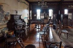 CasaManila museum i Manila Filippinerna Arkivbilder