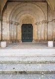 Casamari修道院在Ciociaria,弗罗西诺内,意大利 库存图片