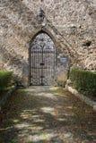 Casamari修道院在Ciociaria,弗罗西诺内,意大利 免版税库存图片