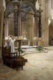 Casamari修道院,意大利 免版税图库摄影